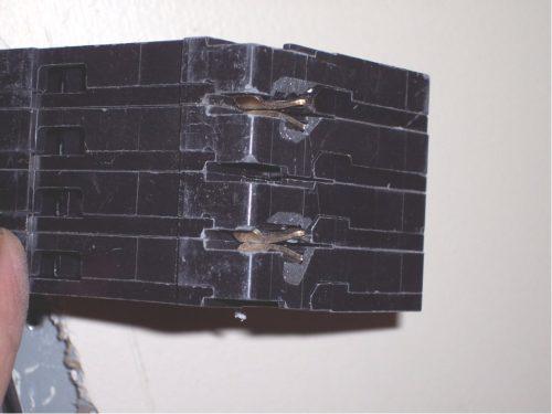 Broken tandem breakers