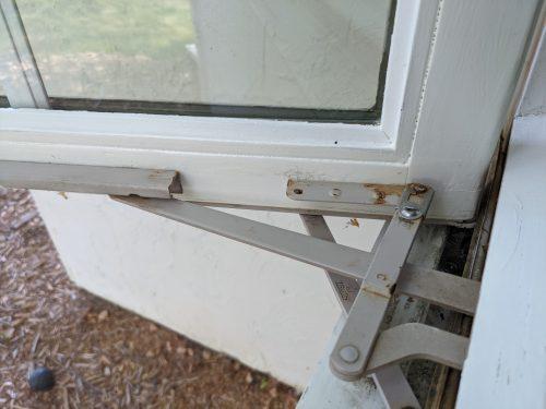 Window sash repaired