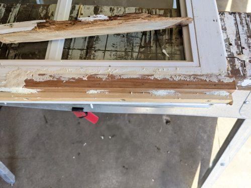 WoodEpox on window sash